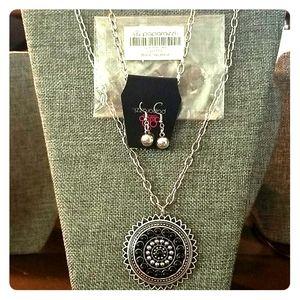Lost SOL Paparazzi Necklace - Black